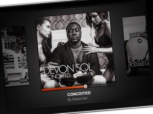 Devon Sol – Digital MP3 Artwork