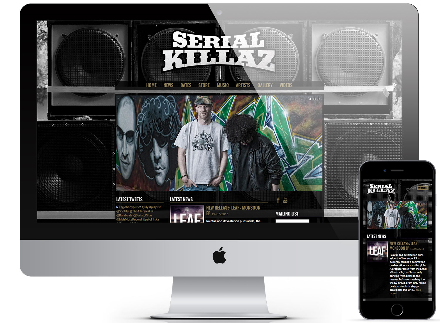 Serial Killaz Website DEVOLUTION DESIGNS