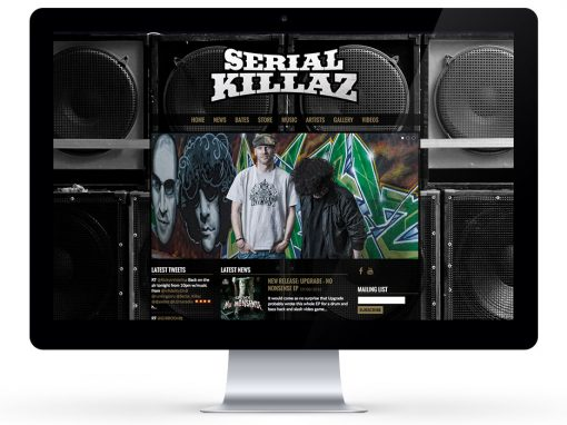 Serial Killaz Website