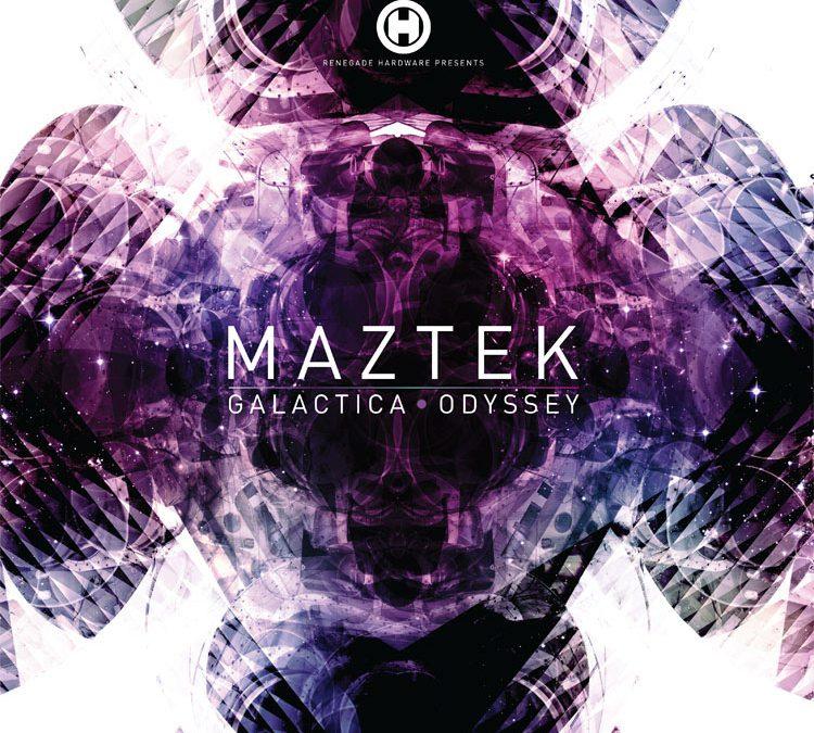 Maztek Galactica Album Cover Artwork