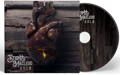 Steph Macleod 'Gold' album artwork