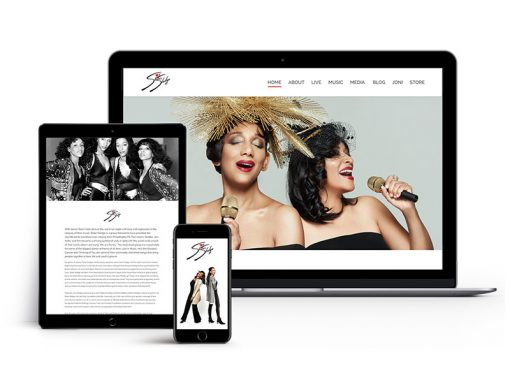 Sister Sledge – Website