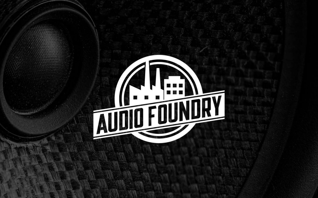 Audio Foundry Logo Design