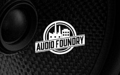 Audio Foundry Logo Design